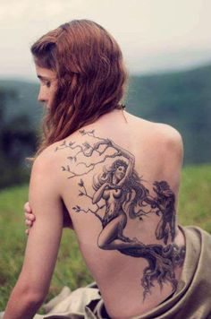 Tattoo natureza humana