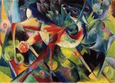 ArtsNyou - Franz Marc The Deer Painting