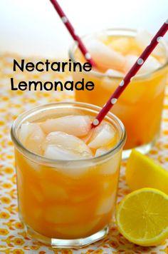 Refreshing Nectarine Lemonade Perfect for summer picnics and BBQ (scheduled via http://www.tailwindapp.com?utm_source=pinterest&utm_medium=twpin&utm_content=post9250272&utm_campaign=scheduler_attribution)