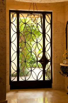 Plastpro S Rustic Series Door Camelia W Wrought Iron