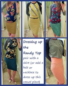 Randy Styling ideas! Come me on Facebook https://www.facebook.com/groups/lularoeheathermouberry/?ref=group_cover