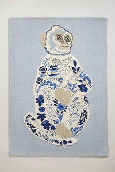 JASMIN- a fun take on blue and white  Darci Rug