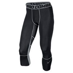 <p>Stay cool as you work up a sweat in the performance-ready Nike Pro Combat Hypercool Compression 3/4 Tights. Perfect for layering under training shorts or pants, these tights will take you through the season in style and comfort. </p><p>Made to be lighter and cooler than ever before, these Pro-worthy tights feature Dri-FIT Max fabric and mesh cooling zones to wick away sweat and manage moisture like never before. Designed to handle heavy training, these tights have a unique embossed…