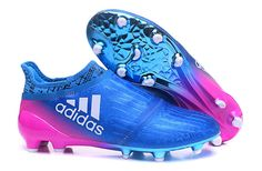 Up to 50% off -Free shipping fee , New 2016/17 Bule and pink Adidas X 16+ Purechaos boots