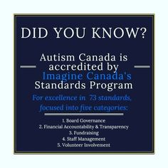 Our donors can trust that #AutismCanada is accountable transparent and operates on a strong organizational structure.  Show your support today: http://ift.tt/1NAxx8W  #AC40 #autism #asd #aspergers #spectrum #autismparents #autismmom #autismdad #autismfamily #autismawareness #autismacceptance #canada #charity #donate #support #organization