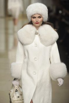 White Fur Coats - Coat Nj
