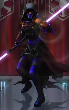 Lord Lena Qyasik by KaRolding on DeviantArt Star Wars Sith, Rpg Star Wars, Star Wars Fan Art, Images Star Wars, Star Wars Characters Pictures, Female Characters, Star Wars Collection, Star Citizen, Star Wars The Old
