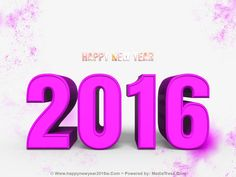 Wishes TO #HappyNewYear 2016 Pics, Cards ~ All Unique
