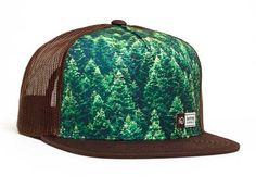 tentree Acres Trucker Hat in Brown USACR-BRN
