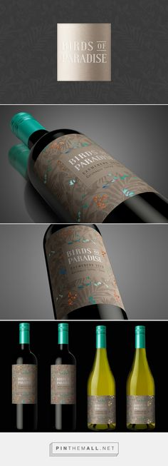 Birds of Paradise Wine Packaging for Emiliana Vineyards by Estudio Luvaro | Fivestar Branding – Design and Branding Agency & Inspiration Gallery