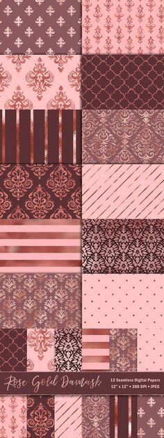 Buy and sell handcrafted, mousemade design content like vector patterns, icons, photoshop brushes, fonts and more at Creative Market. Damask Patterns, Floral Patterns, Photoshop Brushes, Digital Papers, Vector Pattern, Fonts, Rose Gold, Quilts, Creative
