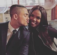 ryan destiny and quincy brown image Black Love Couples, Cute Couples Goals, Couple Goals, Couple Style, Freaky Relationship Goals, Cute Relationships, Star Cast Fox, Star Tv, Quincy Brown