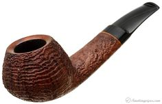 J. Alan Pipes Sandblasted Bent Apple Pipes at Smoking Pipes .com
