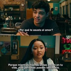 Phrases from the movie To All the Boys That Love Me - Rebeca's Area Lara Jean, I Still Love You, Sad Love, Crying Meme, Inspirational Phrases, Love Phrases, Spanish Quotes, Gossip Girl, Movie Quotes