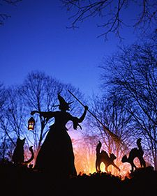 Witch and Cat Lawn Ornaments | Step-by-Step | DIY Craft How To's and Instructions| Martha Stewart