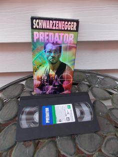 Vintage 1987 Predator Classic Horror Sci Fi by PfantasticPfindsToo, $5.99