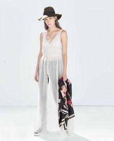 Image 1 of COMBINED MAXI DRESS from Zara Sexy Dresses, Zara Dresses, Tight Dresses, Evening Dresses, Fashion Dresses, Zara Fashion, Runway Fashion, Sheer Dress, Dress Up