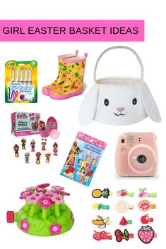 girl easter basket ideas
