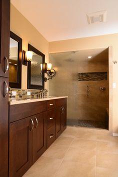 Downtown Gig Harbor Master Bathroom Remodel - contemporary - bathroom - seattle - Habitations Interior Design