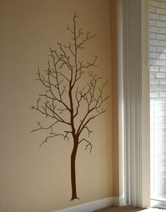 #autocollants #decalques #wall stickers #decals Arbre hivernal / Winter tree. $54.95