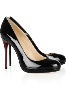 Filo 120 patent-leather pumps nice and simple