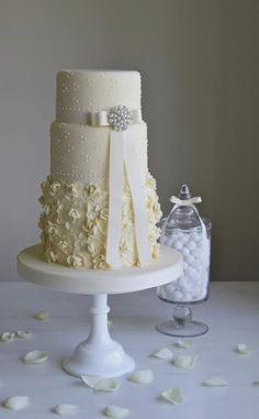 white country wedding cake | Little Boutique Bakery