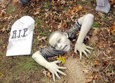 Décoration Halloween inspirée par les films d'horreur