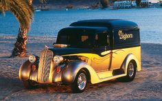 The Dodge 'Humpback' Panel Wagons were made in the mid 1930's and they are considered 'rare'...... this is 1937 model.