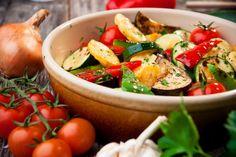 Рецепт запеченых в духовке овощей