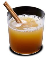 The Shipwrecked Todday  (serves 4)  3 cups apple cider  4 cinnamon sticks  1/2 cup Brinley's Shipwreck spiced rum (or use your favorite spiced rum)  1/2 cup cinnamon schnapps