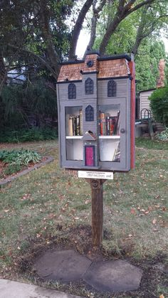 Kieran Leopold. Iowa City, IA. Raven Street in Iowa City is home to a special Little Free Library: this library is HAUNTED! In this haunted little library you'll find stories of horror and mystery for all ages. Enter if you dare . . . we warned you!