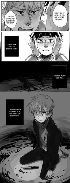 I have this theory of Reigen having a shy friend in his childhood whom he encouraged to fight and somehow everything went terribly wrong...