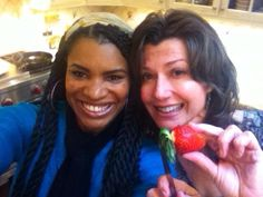 Nicole C. Mullen and Amy Grant