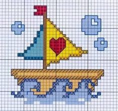quilting like crazy Embroidery Art, Cross Stitch Embroidery, Embroidery Patterns, Cross Stitch Patterns, Cross Stitch Cards, Cross Stitch Baby, Cross Stitching, Tapestry Crochet, Plastic Canvas Patterns