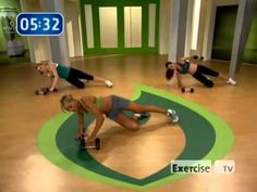 Sexy & Strong Calorie Burn 03   Six Pack Ab Calorie Burn- so sad exercise tv went away. thank goodness for you tube