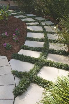 sOftening the edges of paving
