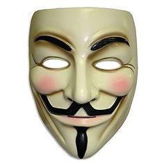 V For Vendetta Mask - Rubies - V for Vendetta - Costumes at Entertainment Earth