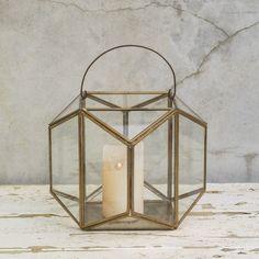#brass #glass #lantern #candle #terrarium