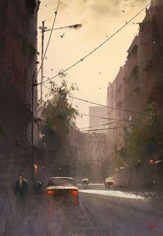 study, Ivan 小红花 on ArtStation at https://www.artstation.com/artwork/0zYaK