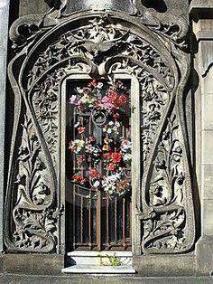 beautiful ornate doorway