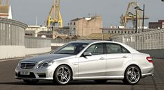 RW Carbon Mercedes W212 E63 AMG Style Side Skirts Installed