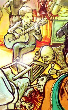 Art name - The Lucifer Supper