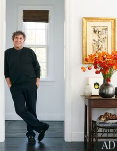 AD 2014 March - Hollywood Powerhouse Sandy Gallin Shifts his talents to interior design - this is a great article about him as well.