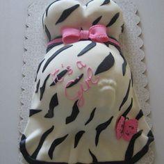 Gâteaux pour Baby Shower : le gâteau ventre rond