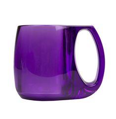 Purple Coffee Mug Purple Cups, Purple Love, All Things Purple, Shades Of Purple, Deep Purple, Purple Stuff, Purple Coffee Mugs, Coffee Cups, Purple Kitchen