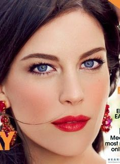 via By Sasha - Liv Tyler makeup - spanish inspired