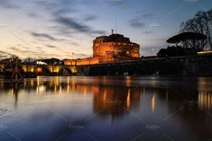 Castle of Sant Angelo in Rome after  by konstantin.tronin on @creativemarket