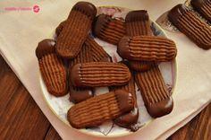 Galletas vienesas de chocolate. | Cuchillito y Tenedor