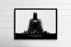 BATMAN CITY MINIMAL HORIZONTAL FRAMED ART POSTER Batman City, Batman Merchandise, Batman Poster, Online Posters, Framed Art, Minimal, Superhero, Artist, Superheroes
