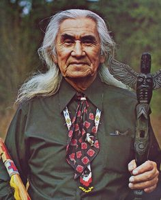 "Chief Dan George in the The Outlaw Josey Wales. My favorite quotes:  ""White man's been sneakin' up on us indians for years..."" and ""I did not surrender either..but my horse, they made him surrender"" - This was an awesome movie. Must watch it again."